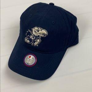 Kansas Jayhawks KU Baseball Hat Cap Champion